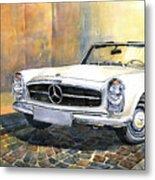 Mercedes Benz W113 280 Sl Pagoda Front Metal Print