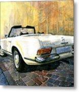 Mercedes Benz W113 280 Sl Pagoda Metal Print