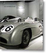 Mercedes Racer Metal Print