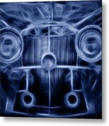 Mercedes Roadster Metal Print