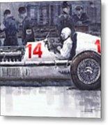 Mercedes W25c Monaco Gp 1936 Manfred Von Brauchitsch Metal Print