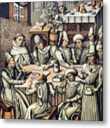 Merchants Paying Taxes Metal Print