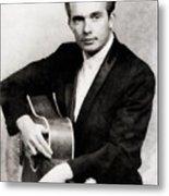 Merle Haggard, Music Legend By John Springfield Metal Print
