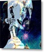 Merlin In The Cosmos Metal Print