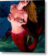 Mermaid Desire Metal Print