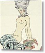 Mermaid, From Les Liaisons Dangereuses  Metal Print