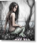 Mermaid's Rest Metal Print