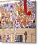 Merry Christmas 2 Metal Print
