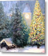 Merry Christmas From Vail Metal Print