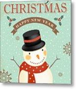 Merry Christmas-jp2766 Metal Print
