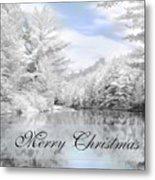 Merry Christmas - Lykens Reservoir Metal Print