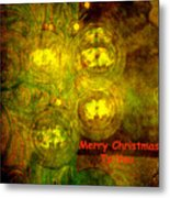 Merry Christmas To You Too Metal Print