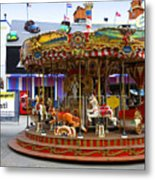 Merry-go-round At The Prater Metal Print