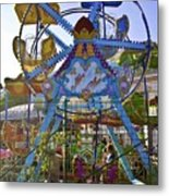 Merry Wheel Metal Print
