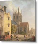 Merton College - Oxford Metal Print