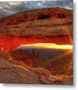Mesa Arch 6 Metal Print