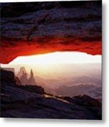 Mesa Arch Sunrise 4 Metal Print