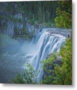 Mesa Falls - Yellowstone Metal Print