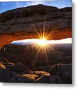Mesa Sunrise Metal Print
