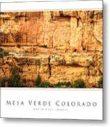 Mesa Verde Colorado Gallery Series Collection Metal Print