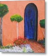 Mesilla Door Metal Print