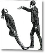 Mesmerism, 19th Century Metal Print