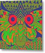 Mesmerizing Owl Metal Print