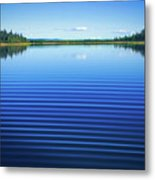 Mesmerizing Ripples Metal Print