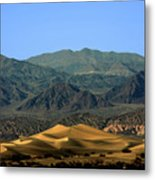Mesquite Flat Sand Dunes - Death Valley National Park Ca Usa Metal Print