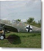 Messerschmitt Bf109 - 2 Metal Print