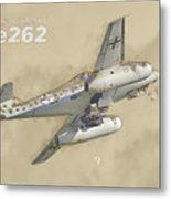 Messerschmitt Me-262 Metal Print