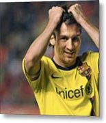 Messi 2 Metal Print