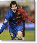 Messi 1 Metal Print