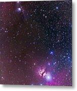 Messier 78 & Horsehead Nebula In Orion Metal Print