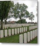 Messines Ridge British Cemetery Metal Print