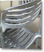 Metal Chair Metal Print