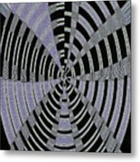 Metal Panel With Holes Abstract #3 Metal Print