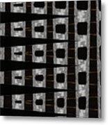 Metal Panel With Holes Abstract Metal Print