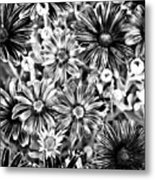 Metal Petals Metal Print