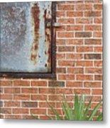 Metal, Rust And Brick Metal Print