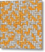 Metal Rusty Surface Metal Print