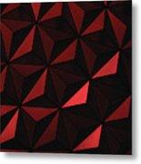 Metallic Pinwheels Metal Print