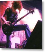 Metallica 1986 Cliff Burton Metal Print