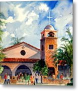 Methodist Church  Gilbert Az Metal Print
