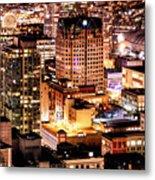 Metropolis Vancouver Mdccxv  Metal Print
