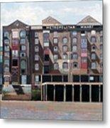 Metropolitan Wharf Metal Print