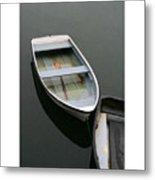 Mevagissy Boat Metal Print