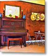 Mexican Cafe Metal Print