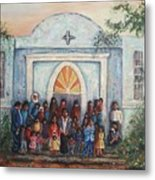 Mexican Church Metal Print