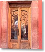 Mexican Doorway 2 Metal Print